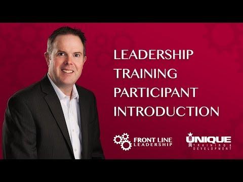 Leadership Training Participant Introduction