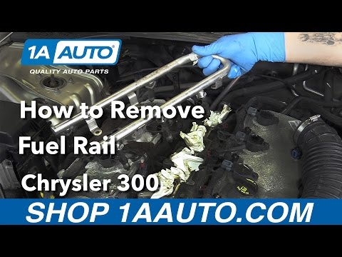How to Remove Install Fuel Rail 2006 Chrysler 300
