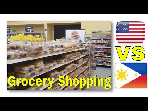 Shopping in the US VS The Philippines - What Filipinos may notice! - My #Kwento