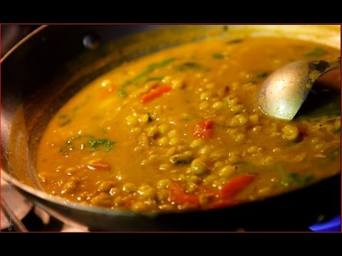 How To Make Green Peas Curry