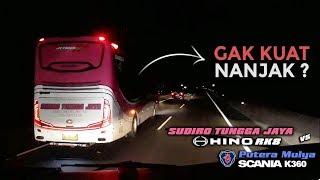 Inilah Bedanya SCANIA & HINO RK di Tanjakan & Turunan Tol Semarang