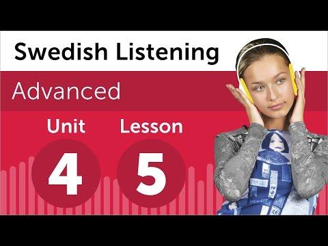 Swedish Listening Practice - Making a Complaint in Swedish