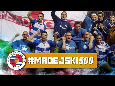 #Madejski500   Our second best Madejski Stadium game - Reading 2-1 Wigan (16 May 2001)