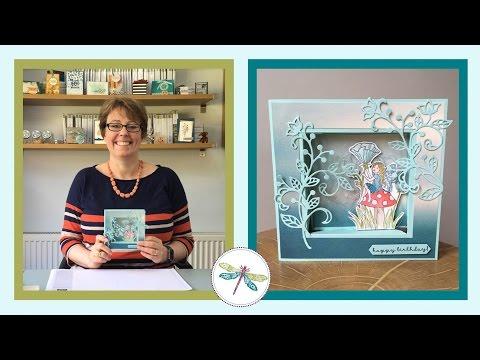 Fairy Box Frame Card