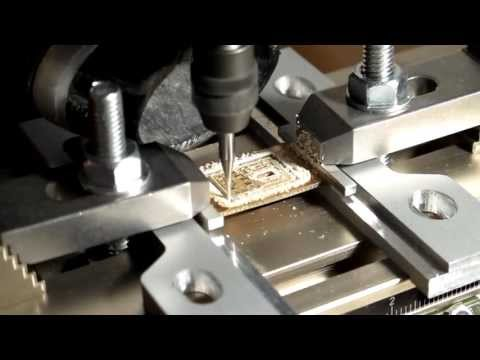 milling PCBs for simple circuits