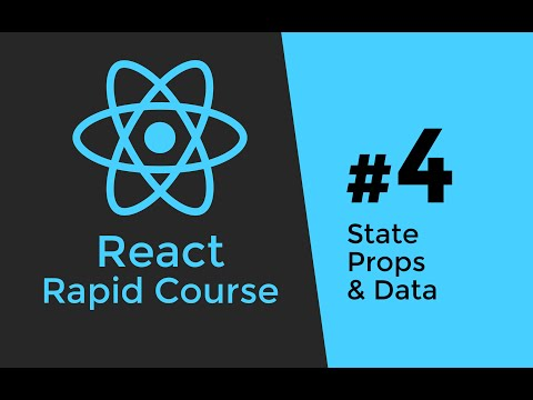 REACT JS TUTORIAL #4 - State vs Props & Application Data