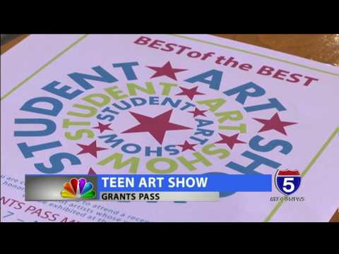 Grants Pass High School student artwork to be shown in museum