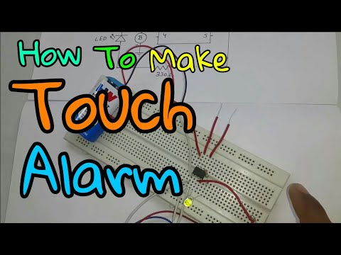 How To Make Touch Alarm (In Hindi)