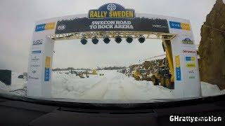 WRC Rally Sweden 2018: Recce SS 8/19 Torsby