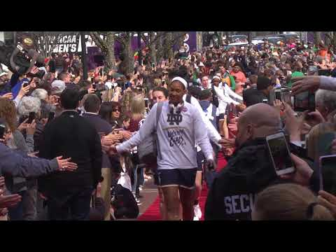 Notre Dame, Mississippi State get red carpet at Nationwide