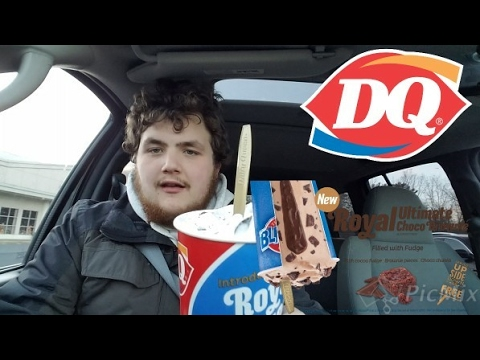 First Taste of DQ Royal Ultimate Choco Brownie Blizzard