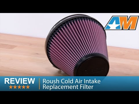 2011-2014 F-150 Roush Cold Air Intake Replacement Filter (3.7L, 5.0L, 6.2L, 3.5L EcoBoost) Review