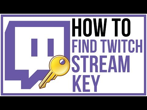 How To Find Your Twitch Stream Key - Updated 2017 Twitch Tutorial
