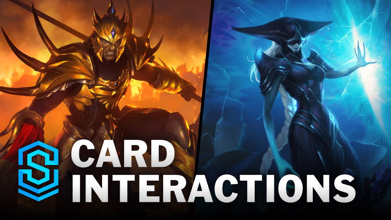 Jarvan, Lissandra and Aphelios - Card Special Interactions | Legends of Runeterra