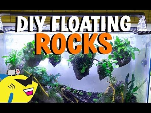 HOW TO: DIY AVATAR AQUARIUM FLOATING ROCKS!