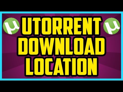 How To Change Utorrent Download Location IN 1 MINUTE On PC 2017