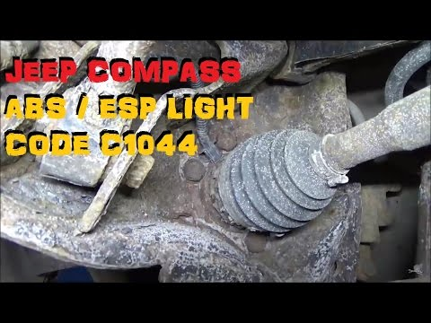 Jeep Compass - ABS Trouble Code C1044 - Part I