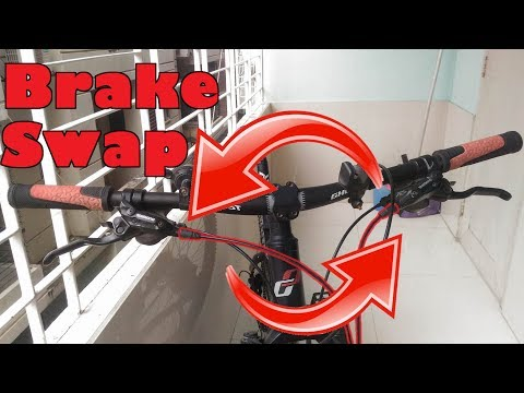 Swapping Hydraulic Brake Hoses