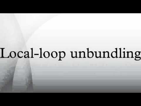 Local-loop unbundling