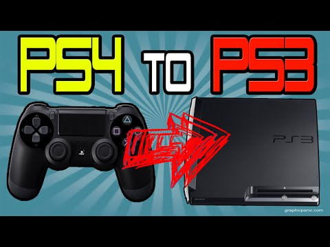 How To Easily Connect PS4 Controller to PS3 Console Wirelessly