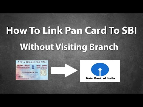 How To Link Pan Card To SBI Account Online