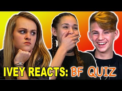 Ivey Reacts: The Boyfriend Quiz