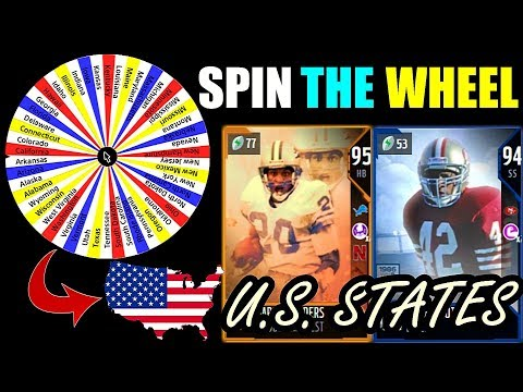 SPIN THE WHEEL OF U.S. STATES! Madden 18 Draft Champions Gameplay