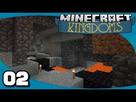 Kingdoms II - Ep. 2: Mines & More | Vanilla Minecraft 1.12 Single-Player Survival