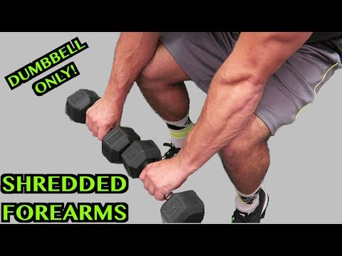 Intense Tabata Dumbbell Forearm Workout (HIIT)