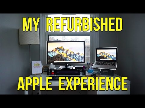 My Refurbished Apple Experience!