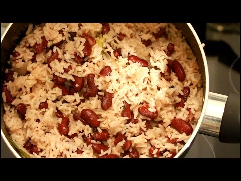 Rice And Peas Vs Fry Chicken Sunday Dinner Up | Recipes By Chef Ricardo