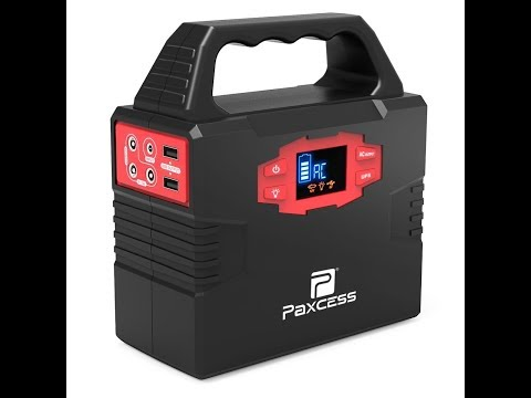 Review:  100-Watt Portable Generator Power Station, CPAP Battery Pack