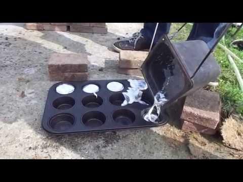 Melting Scrap Aluminium Into Ingots