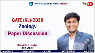 GATE LIFE SCIENCE 2020 Paper Discussion : Section XL - T: Zoology