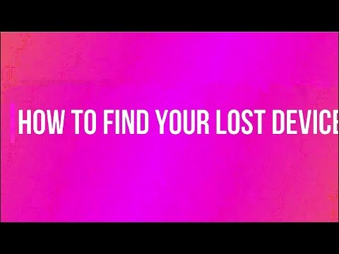 How to find a lost Smartphone?