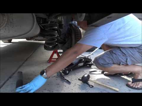 Toyota Sienna rear shocks replacement