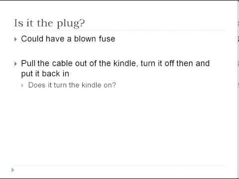 Amazon Kindle Won't Charge  Quick Fixes