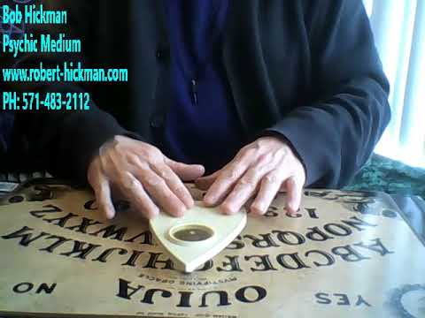 OUIJA Board Seance: A Lemurian Makes Contact with Bob Hickman Psychic Medium