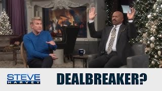 Todd Chrisley You Exhibit Hoe Behavior Steve Harvey
