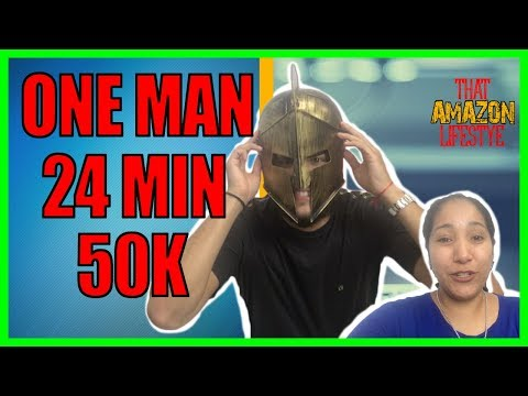 How to Become an Amazon Seller - He Made $50,000 in 24 MINUTES! How FBA Is His Full Time Business