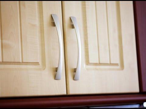Installing cabinet handles DIY Menards