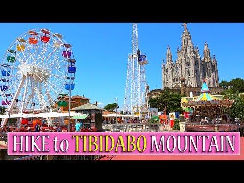 How to get to Tibidabo mountain I Hike to Tibidabo