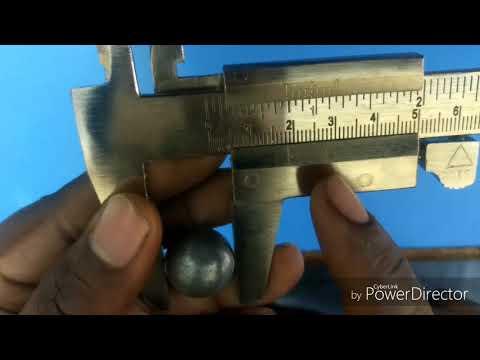 Experiment 1 - Diameter of Bob using Vernier Calliper /11th Class