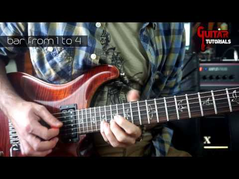 Nothing But Love (Mr. Big) - Guitar Tutorial with Nicola Ancillotti