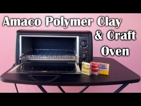 Amaco Polymer Clay & Craft Oven (Info, Demo & Review)