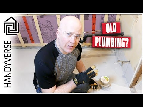 Laundry Room Makeover - Part 3: Flushed! Old Toilet Plumbing Removal : EP 029