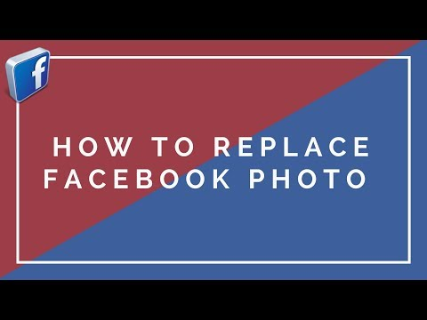 How to replace Facebook photo  without losing the comments, likes