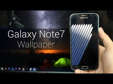 Samsung Galaxy Note 7 Stock Wallpapers (Download QHD)