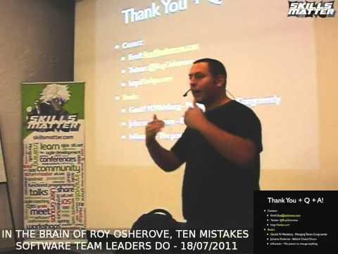 Ten Mistakes Team Leaders Make