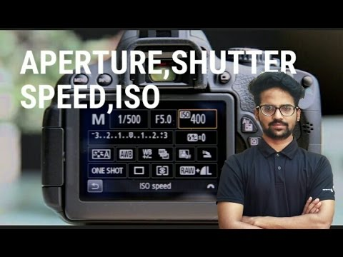 What is aperture,shutter speed,iso in photography. Explained in hindi